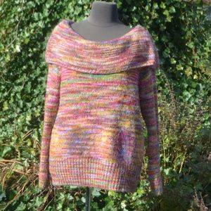 Lane Bryant Sweaters - Lane Bryant 22/24 On/Off Shoulder Sweater